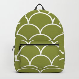 Scales - green Backpack