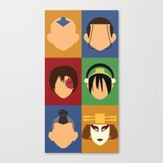 Team Avatar Canvas Print