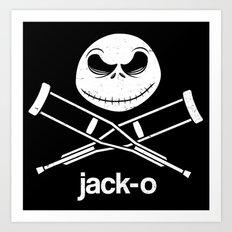 jack-o Art Print