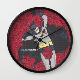 American Batsy Wall Clock