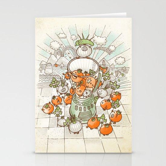Salsacrifice! Stationery Cards