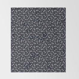 I LOVE STRENGTH (Dark Background Option) Throw Blanket