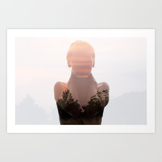Insideout 6. Naked Nature Art Print
