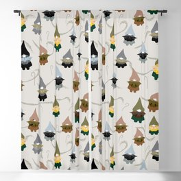 Gnome  pattern 1e Blackout Curtain