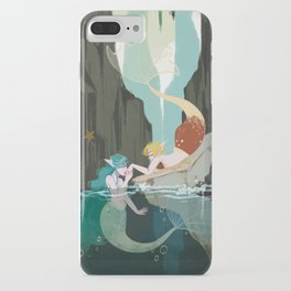 Mermaid Neptune and Uranus iPhone Case