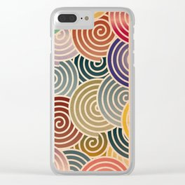 Chiyogami Clear iPhone Case