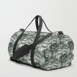 Vertical garden of fractal wall plants Duffle Bag