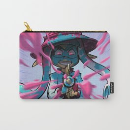 Pink vs Blue Carry-All Pouch