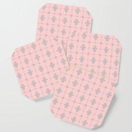 Encore Deco (pink-silver) Coaster