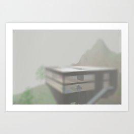 Seattle Piano Art Print