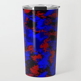 Pop Art Fluid Abstract 58 Travel Mug