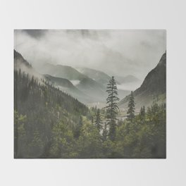 Valley of Forever Throw Blanket
