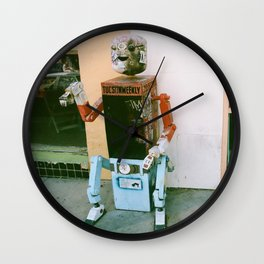Robot Weekly Wall Clock