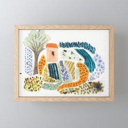 Wee Little Farm Framed Mini Art Print