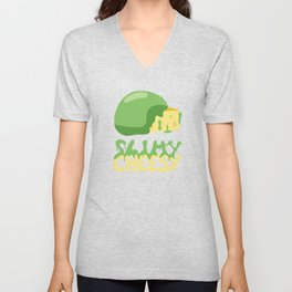 Slimy cheesy Unisex V-Neck