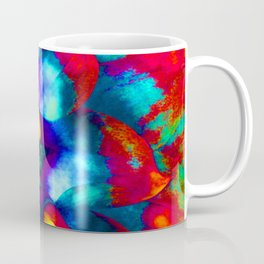 Groovy Tie Dyed Square Coffee Mug