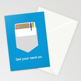 Get Your Nerd On Stationery Cards
