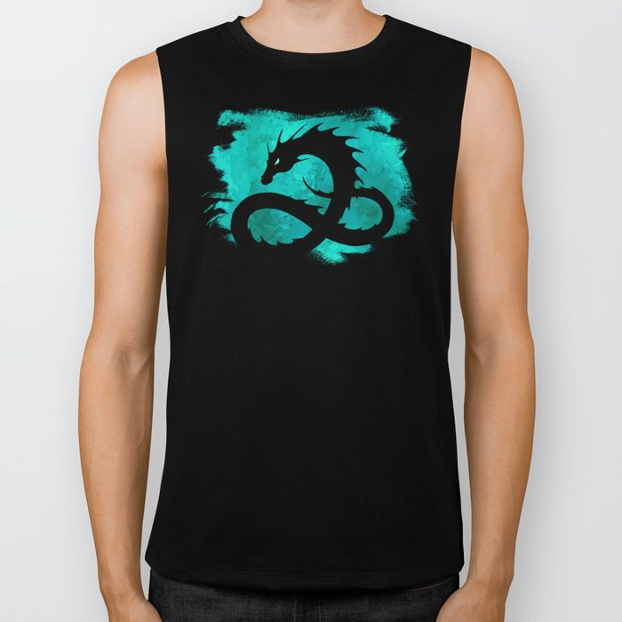Sea Serpent Biker Tank