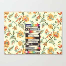 VHS & Entry Hall Wallpaper Canvas Print