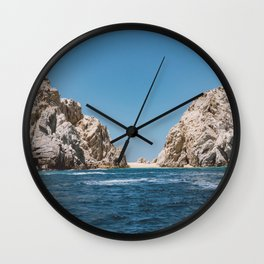 Lovers Beach II Wall Clock