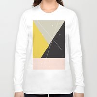 constellation Long Sleeve T-shirts featuring Constellation by Bambs Hemmings