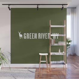 Deer: Green River, Wyoming Wall Mural