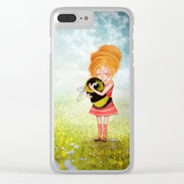 Bee Whisperer - Save the Bees Clear iPhone Case