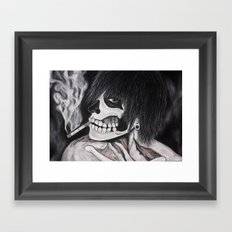 Neither Rick nor Famous. Framed Art Print