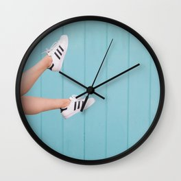 Kick up your heels, and relax Wall Clock