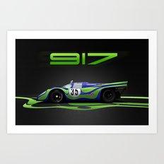Porsche 917-021  Art Print