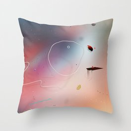 In The Cage Throw Pillow