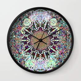 An Altar For Empty Events Wall Clock