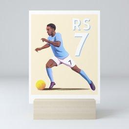 Sterling 7 - Football Mini Art Print