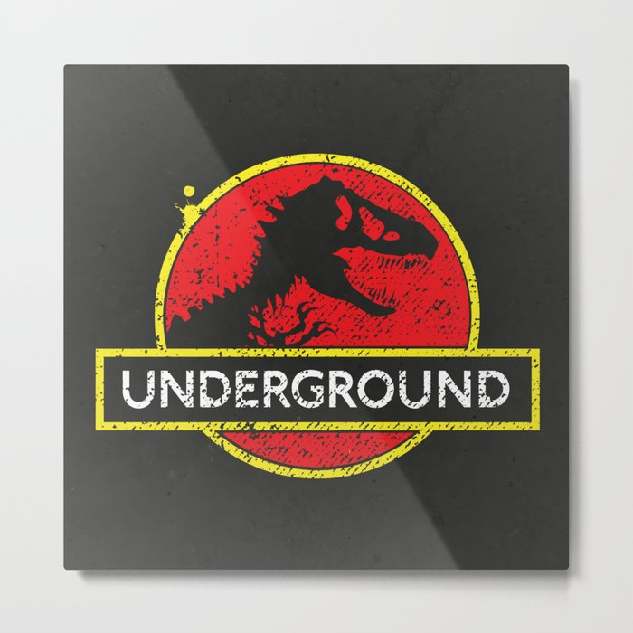 Monsters of the Underground Metal Print