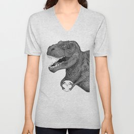 Dino Love Unisex V-Neck