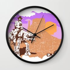 Walker Tejas Ranger Wall Clock