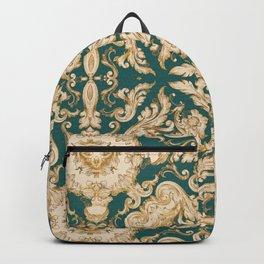 A Modern Vintage Dream (emerald green) Backpack