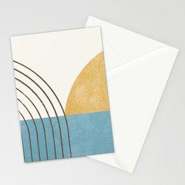 Sunny Ocean Horizon Stationery Cards