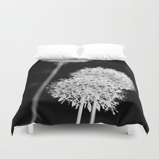 Allium cristophii Duvet Cover