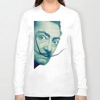 dali Long Sleeve T-shirts featuring Dali by Fantastikat