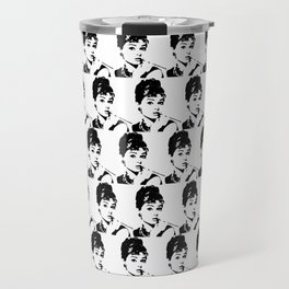 Audrey Hepburn Golightly Girl Travel Mug