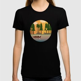 Sunset in the swamp T-shirt