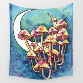 Mushroom Patch Wall Tapestry