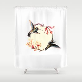 Humming Bird Shower Curtain