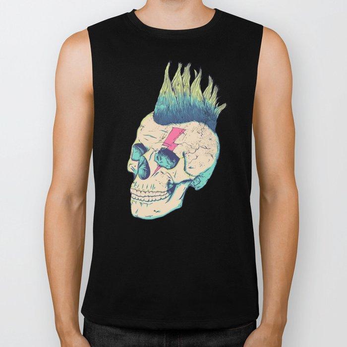 Skull Punk Biker Tank