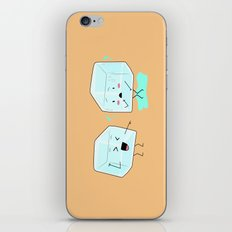 Ice cube problems iPhone & iPod Skin