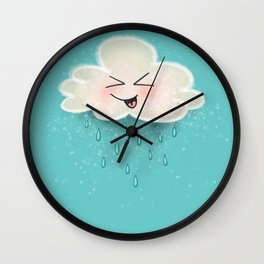 Pitter Patter Party! Wall Clock