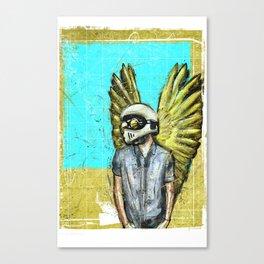 DREAMS OF A RIDER Canvas Print