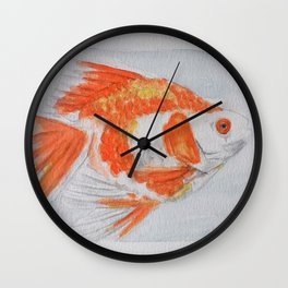 watercolor fish 2 Wall Clock