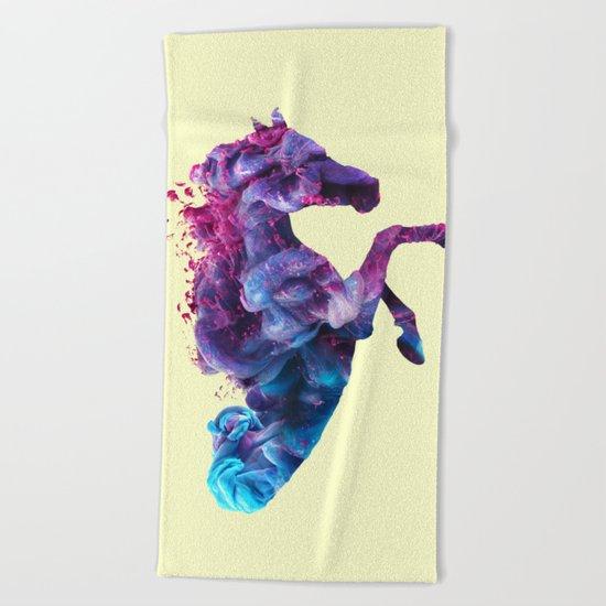 HORSE INK Beach Towel